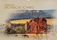 Traumhafte Saechsische Schweiz (Wandkalender 2022 DIN A2 quer): Einmalig schoene Bilder aus der Saechsischen Schweiz (Monatskalender, 14 Seiten )