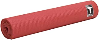 Body-Solid Tools Yoga Mat, Red, 5 mm