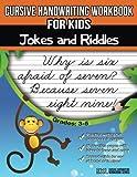 Cursive Handwriting Workbook for Kids: Jokes and Riddles