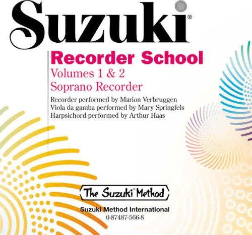 Suzuki Recorder School: Volume 1 & 2 Soprano Recorder