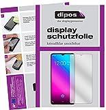 dipos I 2X Schutzfolie klar kompatibel mit Vivo V11 Plus Folie Bildschirmschutzfolie