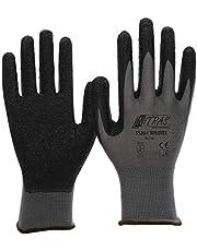 NITRAS 3520 Nylotex Nylon-Latexhandschuhe Schutzhandschuhe Arbeitshandschuhe Allroundhandschuhe - 12 Paar