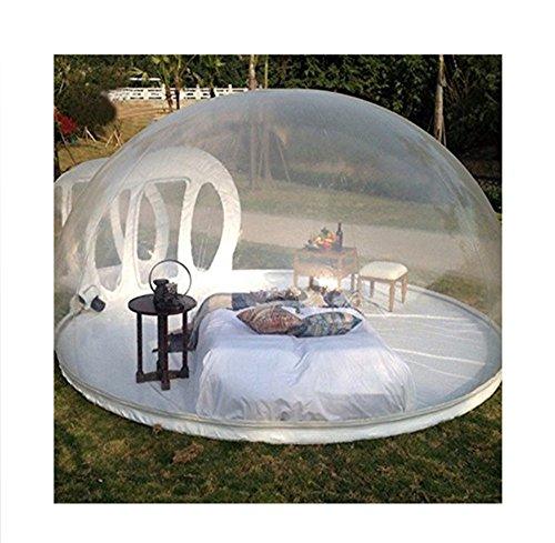 Outdoor-Tunnel Hinterhof Durchsichtige Luft Kuppelzelt, Single Aufblasbare Bubble Zelthaus Home Camping Mit Gebläsen Und Reparatur Ausrüstung,C,2 * 3M