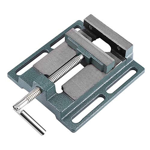 """Drill Press Vise, 6"""" Heavy Duty Cast Iron Opening Size Milling Vice Holder Bench Clamp Woodworking Clamping Vise Machine Bench Top Mount"""