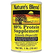 Protein Powder 80% Soy Isolate 1 lb Pwdr