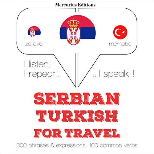 『Serbian - Turkish. For travel』のカバーアート