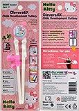 CleverstiX Child Development Chopsticks: Hello Kitty (Right-Handed)