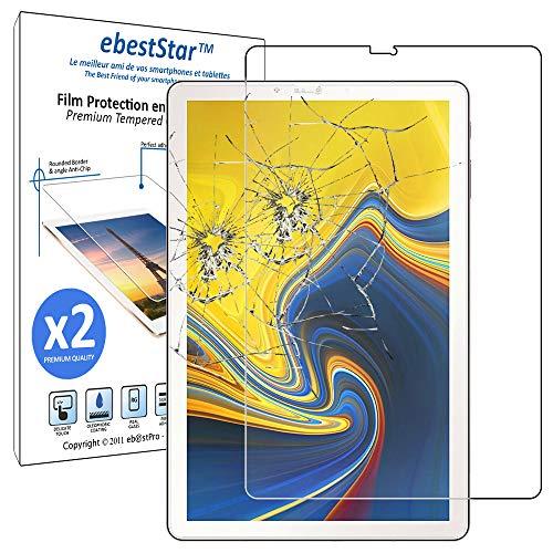ebestStar - [Lote x2 Cristal Templado Compatible con Samsung Galaxy Tab S4...