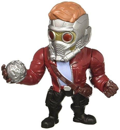 JADA Metals - Statuina Marvel Guardiani della Galassia Star Signore, 10,2 cm