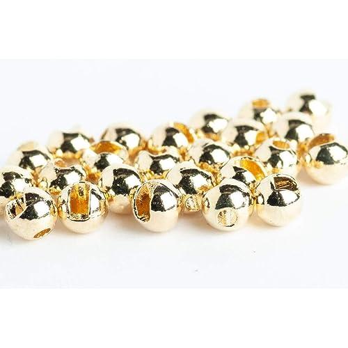 100 x 2.8mm dark olive brass beads.