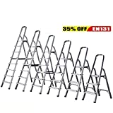 Foldable 3 4 5 6 7 8 Step Ladder Stepladder Non Slip Tread