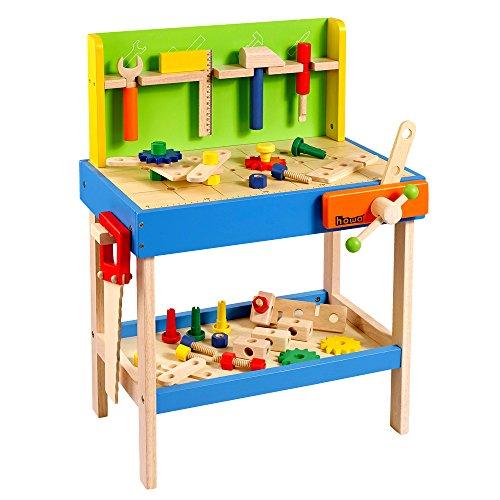 Howa Profi Kinderwerkbank incl. 45tlg. Zubehör und 5 Werkzeugen 4904