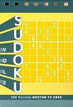 Sudoku Puzzle Pad: Medium to Hard: 2