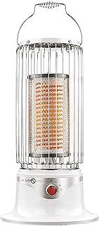 Calefactor eléctrico GYF Portátil Calefactores Y Radiadores Halógenos Casa Fibra de cristal de carbono calentador Pequeña Arma de fuego de calefacción eléctrica Fiebre de 360 grados Mudo libre de radi