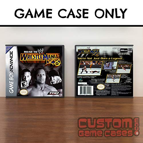 Gameboy Advance WWE Road to WrestleMania X8 - Case