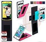 Hülle für Oppo N1 mini Tasche Cover Case Bumper | Pink |