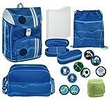 Familando - Set de útiles Escolares Azul Azul Verde