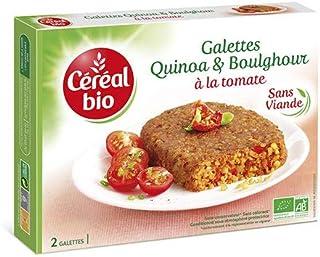 CEREAL BIO Organic Tomato And Quinoa Steaks, 200 g