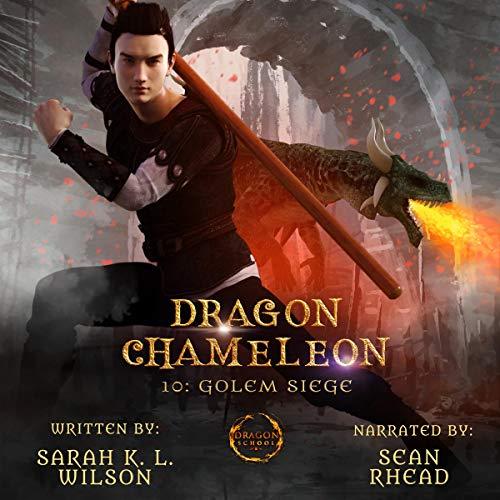 Dragon Chameleon: Golem Siege cover art