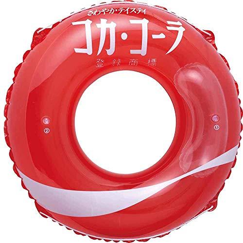 ドウシシャ 浮き輪 コカ・コーラ ウェーブ 120cm
