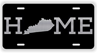 JMM Industries Home Kentucky State KY Vanity Novelty License Plate Tag Metal 6-Inches by 12-Inches Etched Aluminum UV Resistant ELP079