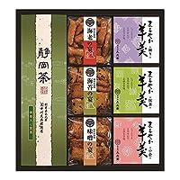 菓子処 久兵衛 緑茶・あられ・羊かん詰合せ TAY-30
