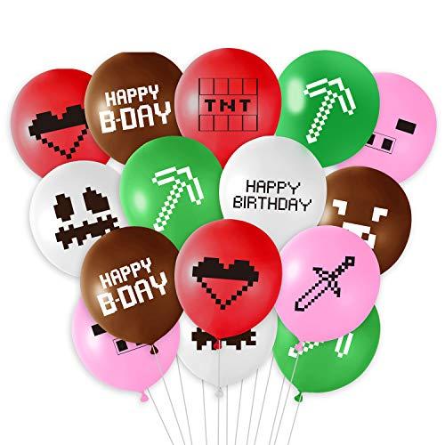 TUPARKA 30 Pcs Spiel Party Dekoration Luftballons 12