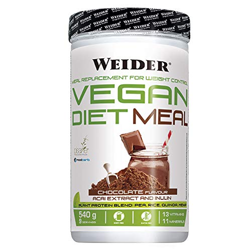 Weider wjw.251101 Victory Vegan Diet Mix Set Choco 540 gram