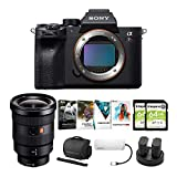 Sony Alpha a7R IV Mirrorless Digital Camera Body with 16-35mm f/2.8 G Lens and Software Suite Bundle (8 Items)