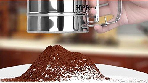 hpk branded Rotator Sieves Sifter Shaker Kitchen Tool