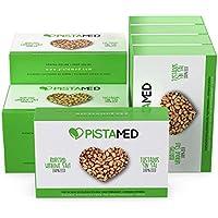 Pistachos ecológicos PISTAMED - 1kg. Tostado artesanal SIN SAL - Origen España (10 cajas de 100 gr.)