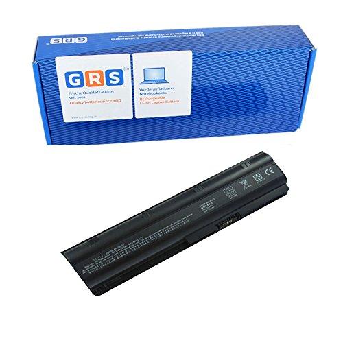 GRS Batterie avec 6600mAh pour HP Compaq Presario CQ42 CQ32 HP Pavilion dm4 HP G62 G42 G72 dv3 dv4 dv5 dv6 dv7 remplacé: MU06 MU09 HSTNN-IB0X HSTNN-Q60C HSTNN-IB1E HSTNN-OB0X