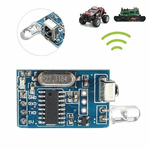 Ils - DIY 5V draadloze IR infrarood afstandsbediening Decoder Encoding zender ontvanger Modu