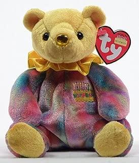 Ty Beanie Baby November Topaz Birthstone Teddy Happy Birthday Bear