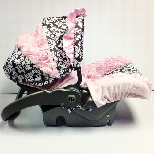 Great Price! Car Seat Cover Rose Damask