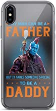 IP 7/8 Pure Clear Case Cases Cover Guardians of The Galaxy Any Man Can Be A Father But Someone Special to Be A Daddy Phone Case