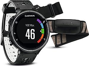 Realiza un seguimiento de la distancia, ritmo, tiempo, frecuencia cardiaca y el consumo máximo de oxígeno Funciones de conexión: cargas automáticas a Garmin Connect, seguimiento en tiempo real, indicaciones de audio, notificaciones inteligentes y cap...