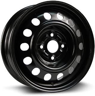 RTX, Steel Rim, New Aftermarket Wheel, 14x5.5, 4-100, 54.1, 45, black finish X40720