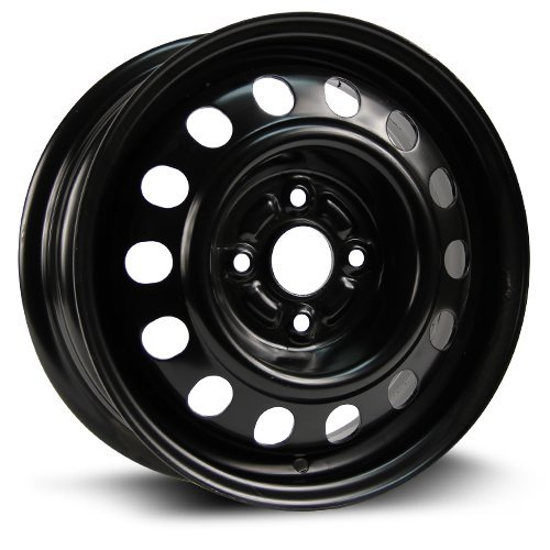 RTX, Steel Rim, New Aftermarket Wheel, 14x5.5, 4-100, 54.1, 45, black finish X40720