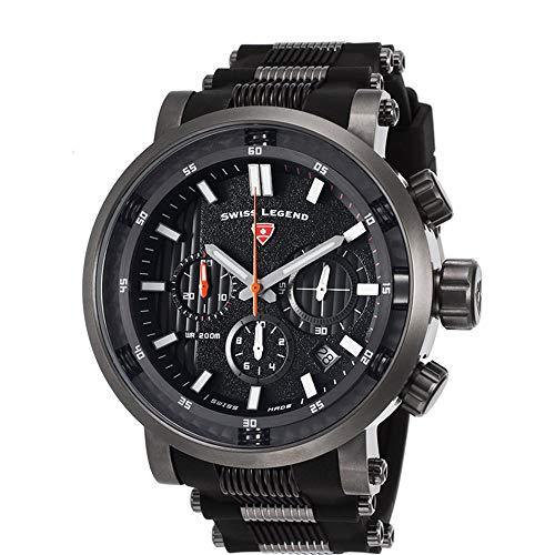 Swiss Legend Dragonet Reloj de Hombre Cuarzo 50mm SL-13838SM-GM-01-OA