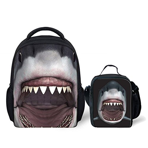 Nopersonality Cool Shark Backpacks for Pre-Schooler Baby Toddler with...