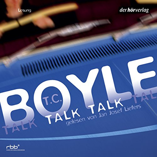 Talk Talk audiobook cover art