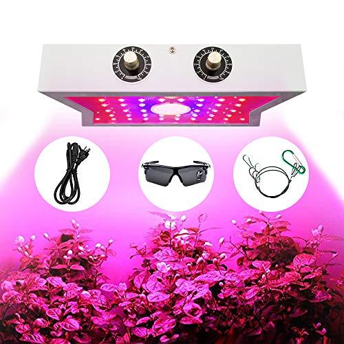 CYBORIS 1200W LED élèvent la lumière, Lampe de Plus en Plus COB LED pour Plantes avec réglables Veg et Bloom Switch