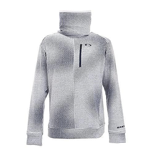 [オークリー] シャツ OAKLEY ELLIPSE HI-NECK LS SHIRT WHITE PRINT US サイズ XL (日本サイズ2XL相当)