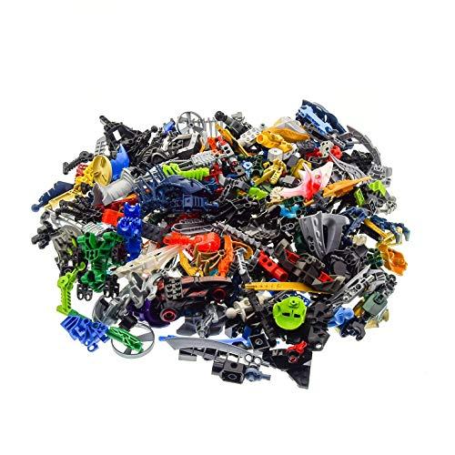 Bausteine gebraucht 1 kg Lego Bionicle Hero Factory Slizer Technic Mischung Kiloware Form und Farbe der Steine zufällig Gemischt 1000 g Sortierung