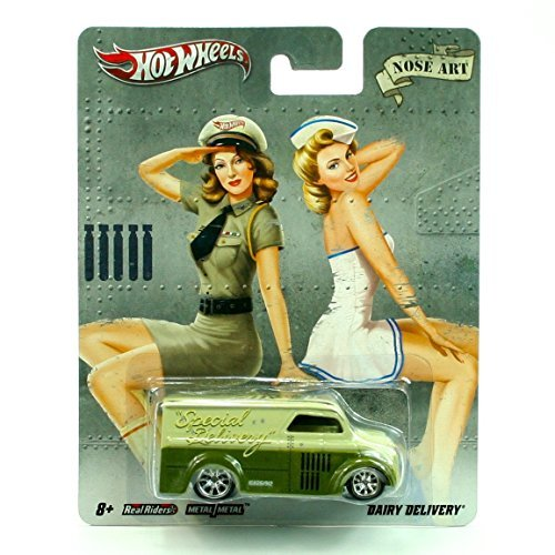 DAIRY DELIVERY NOSE ART Hot Wheels 2011 Nostalgia Series 1:64 Scale Die-Cast Vehicle