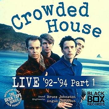 LIVE 92-94, Pt. 1