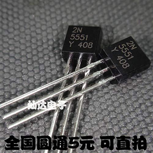 100 teile/los 2N5551 NPN TO-92 transistor Auf Lager
