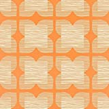 Orla Kiely for Harlequin Flower Tile Wallpaper 110422 Clementine