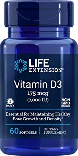 Life Extension Vitamin D3 7,000 IU, 60 softgels